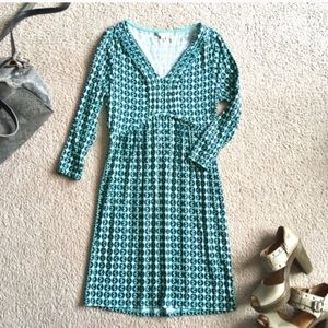 Boden Dorothy print dress casual cute spring 3/4